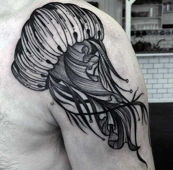 Jellyfish Tattoo Ideas: 30+ Images Of The BEST Jellyfish Tattoo Ideas You Will