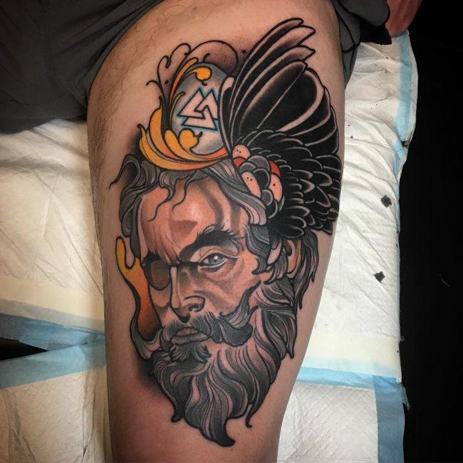 30+ Neo-traditional Tattoos Ideas - Tats 'n' Rings