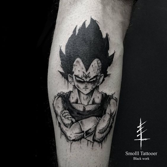 Dragonball Tattoo
