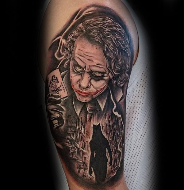 Joker Scene Batman Arm