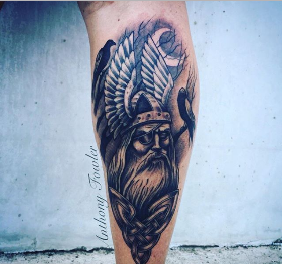 Viking God Tattoo
