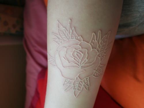 White flower Tattoo