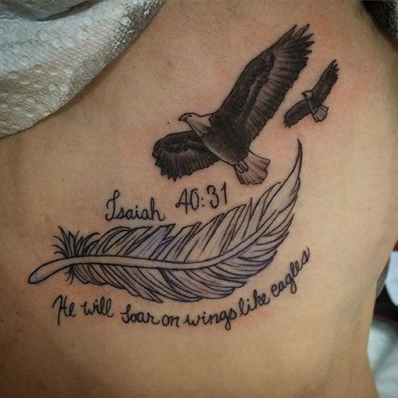 Soaring Eagle Tattoo
