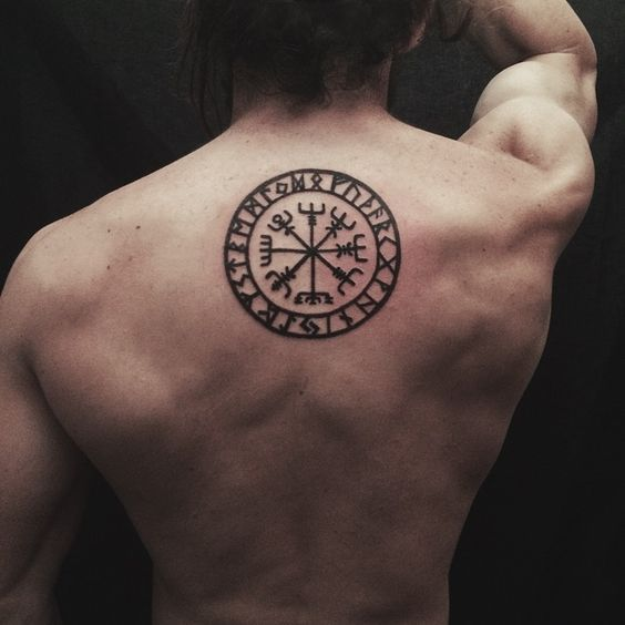Viking Compass Tattoo