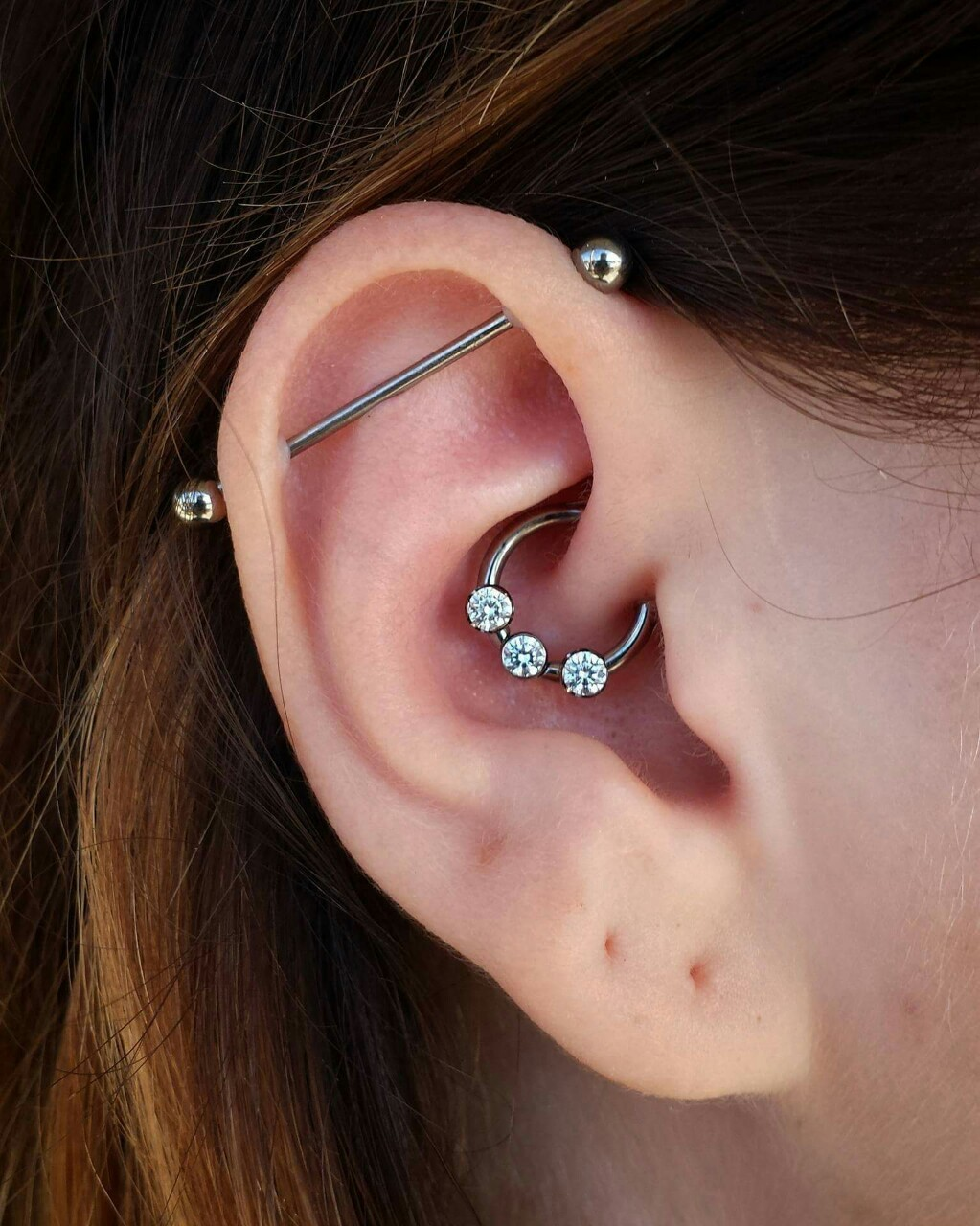 simple industrial piercing 2