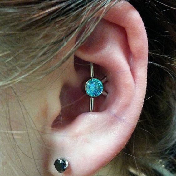 stone industrial piercing
