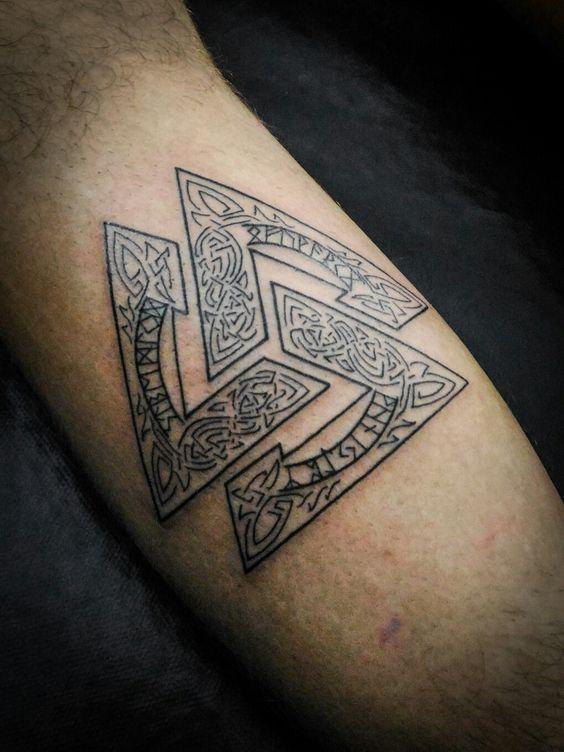 valknut tattoo
