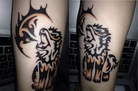 Arcanine Tribal Tattoo