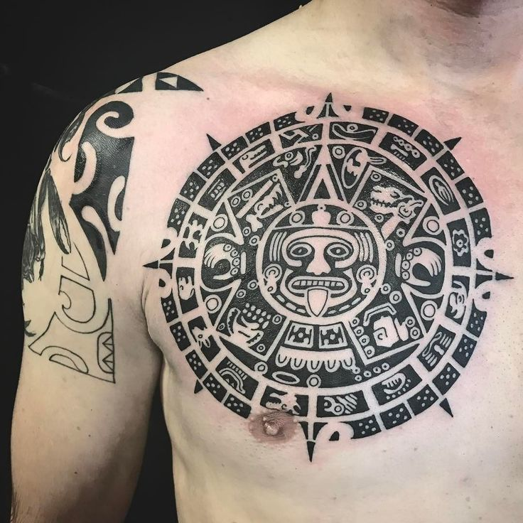 50+ Intricate Aztec Tattoo Designs - Tats 'n' Rings