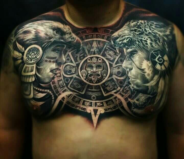 Aztec Design Tattoo Small: 50+ Intricate Aztec Tattoo Designs