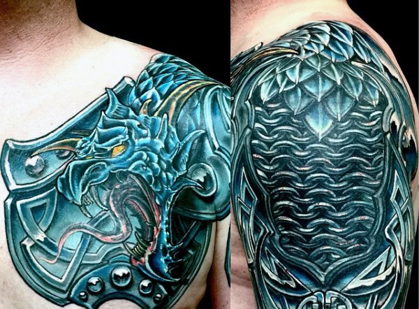 Chestplate Celtic Tattoo