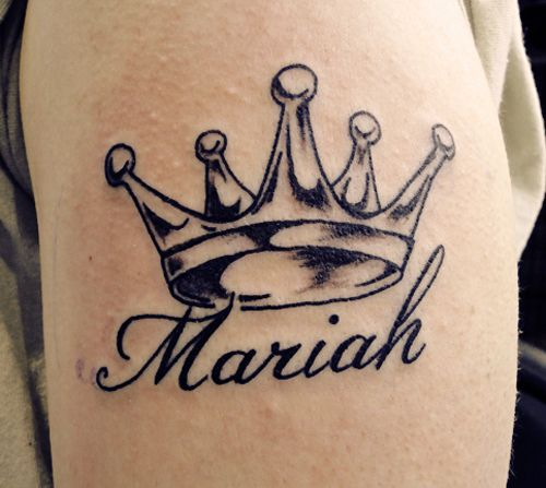 Crown Mariah Sleeve Tattoo