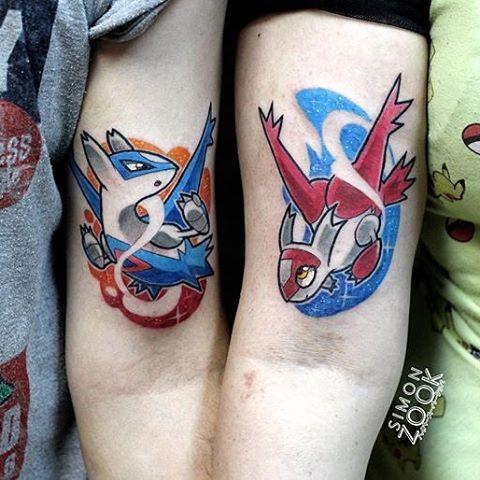 LnL couple tattoo