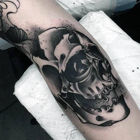 311218df1 70+ Amazing New School Tattoo Ideas To Live For - Tats 'n' Rings