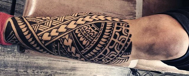 Tribal Tattoo Arm