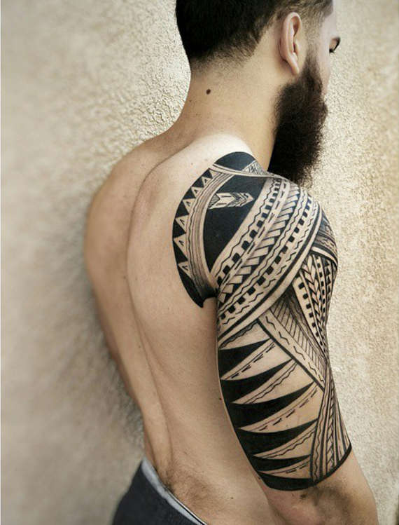 Tribal Tattoo Half Sleeve 4