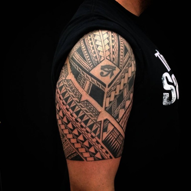 Tribal Tattoo Samoan Sleeve