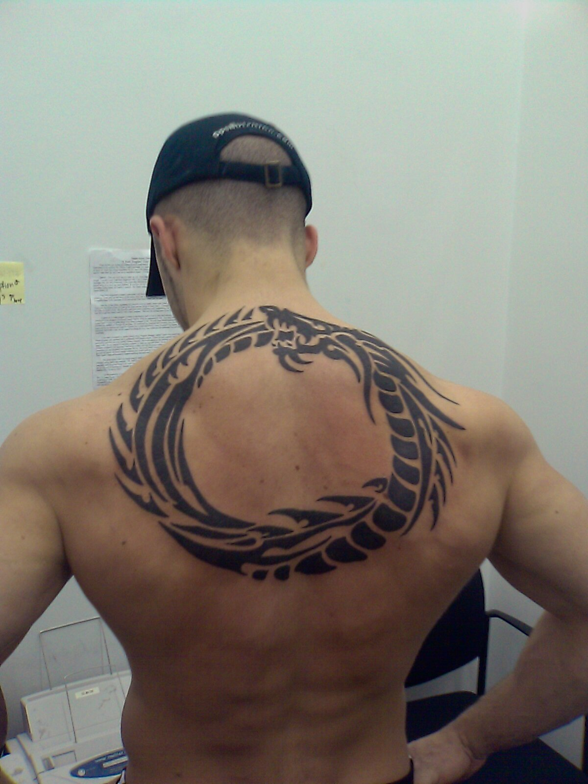 Tribal Tattoo Viking