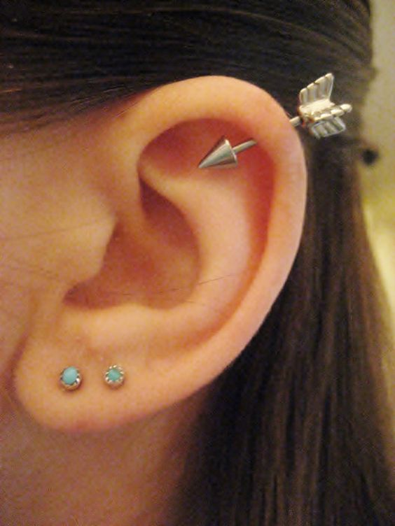 arrow helix piercing