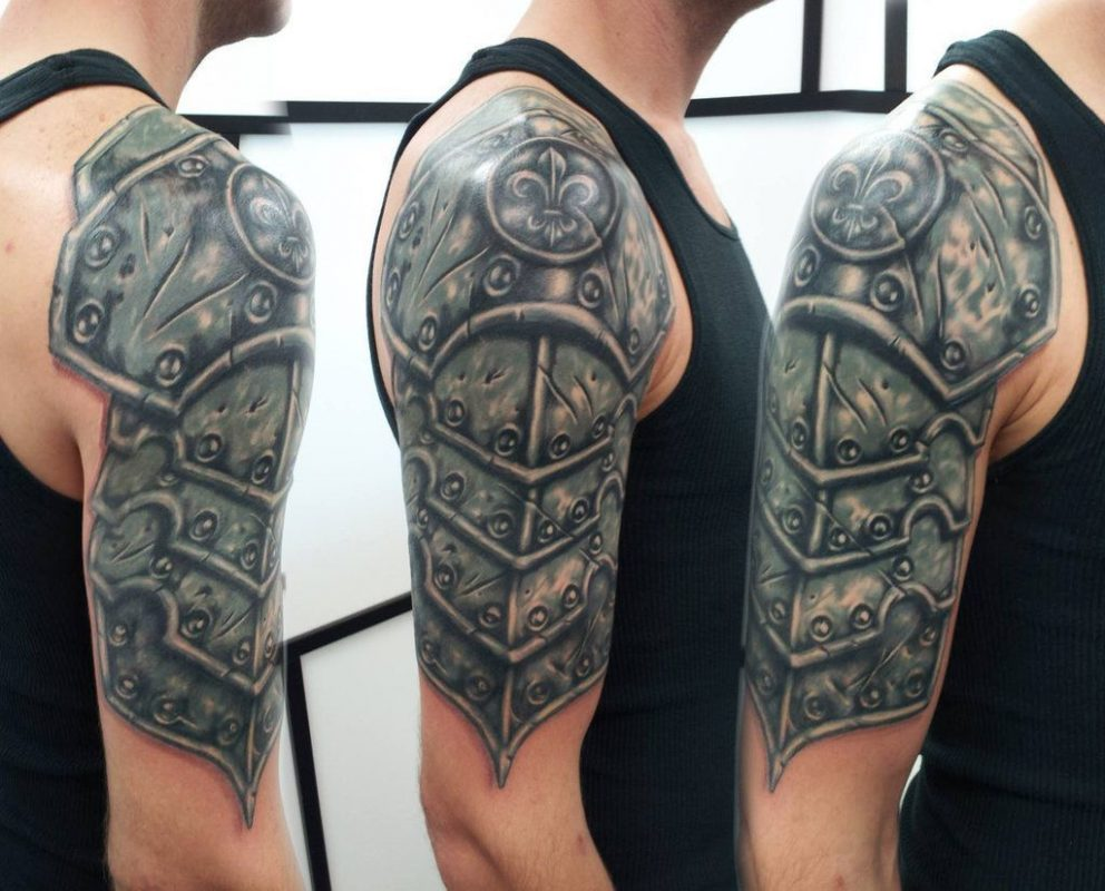 45 Armor Tattoo Ideas Tats N Rings