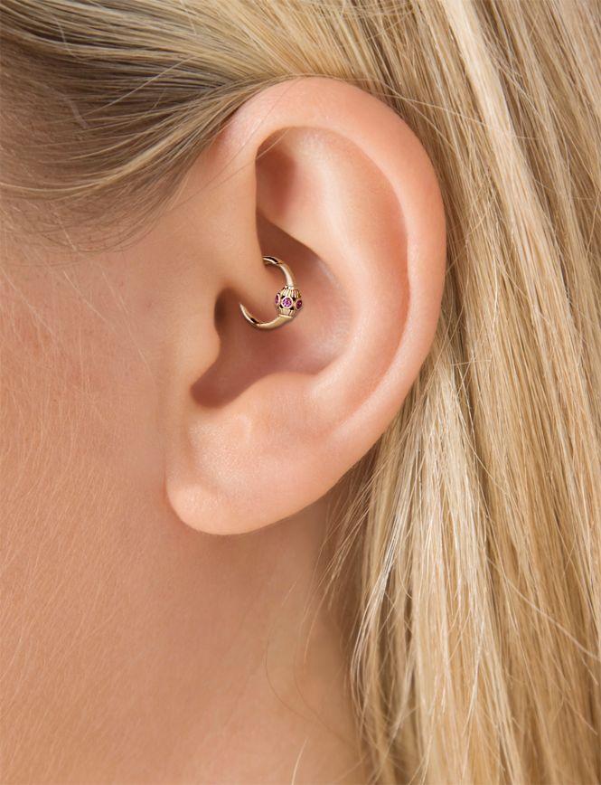 glam daith piercing