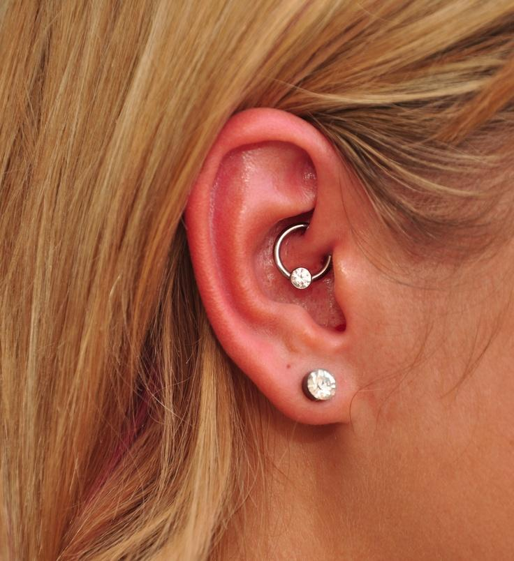 beautiful stone jewelry for daith piercing