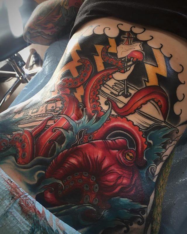 neo kraken tattoo