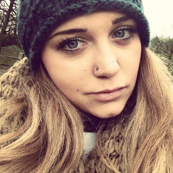 rhinestone nose piercing for women