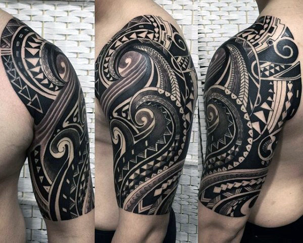 tribal tattoo polynesian 2