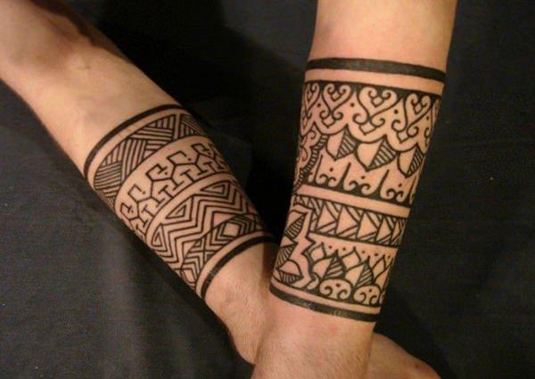 tribal tattoo wrists
