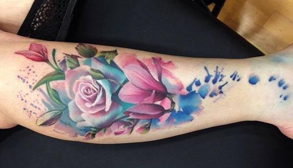 dad7429cb 50+ Amazing Rose Tattoo Designs - Tats 'n' Rings