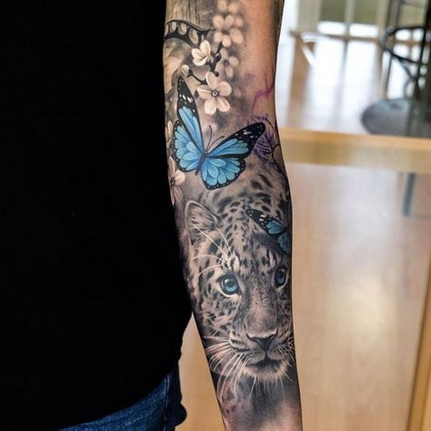 Artsy tattoo sleeve 3
