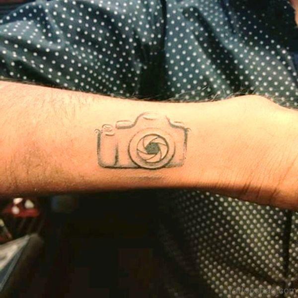 camera cool tattoo arm 4