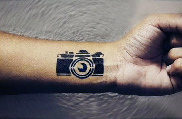camera cool tattoo wrist 1
