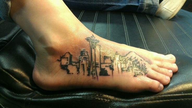 city cool tattoo feet 1