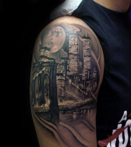 city cool tattoo sleeve 1