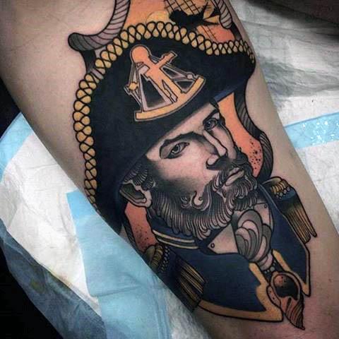 cool tattoo leg 1