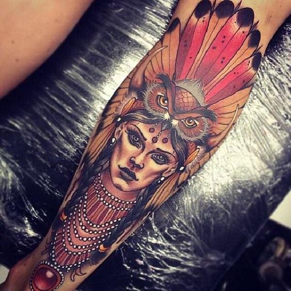 cool tattoo leg 2