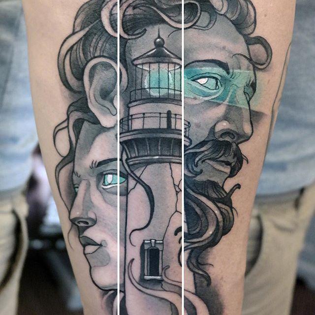 cool tattoo leg 4