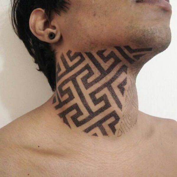 neck cool tattoo ideas 3