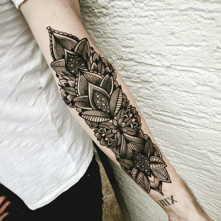 women forearm tattoo 1