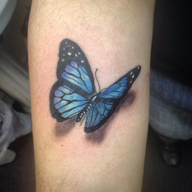 Butterfly Tattoo Arm