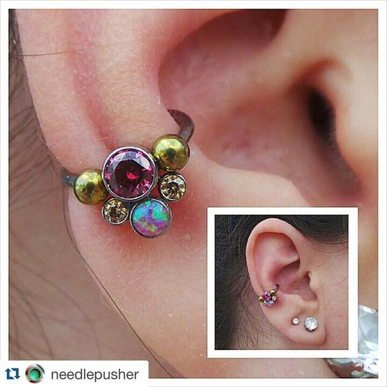 beautiful jewelry for conch piercing