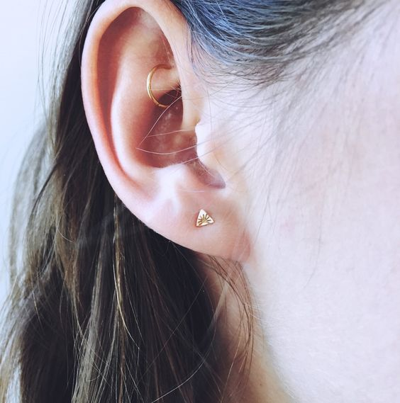 hoop earring for rook piercing