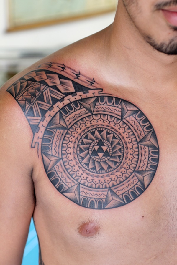 Exquisite Mandala Tribal Tattoo