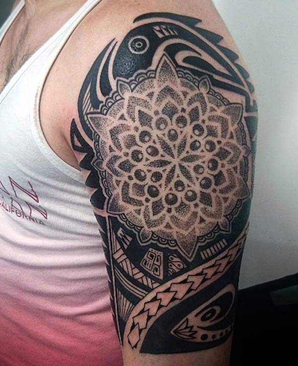 Mandala Tribal themed