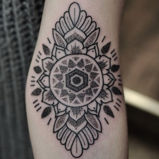 Mandala Inspired Tattoo