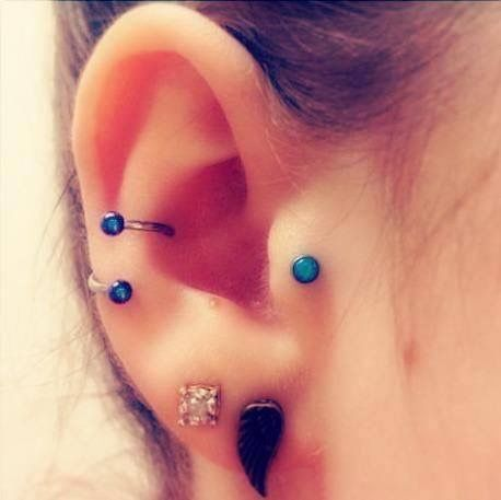 unique barbell for conch piercing