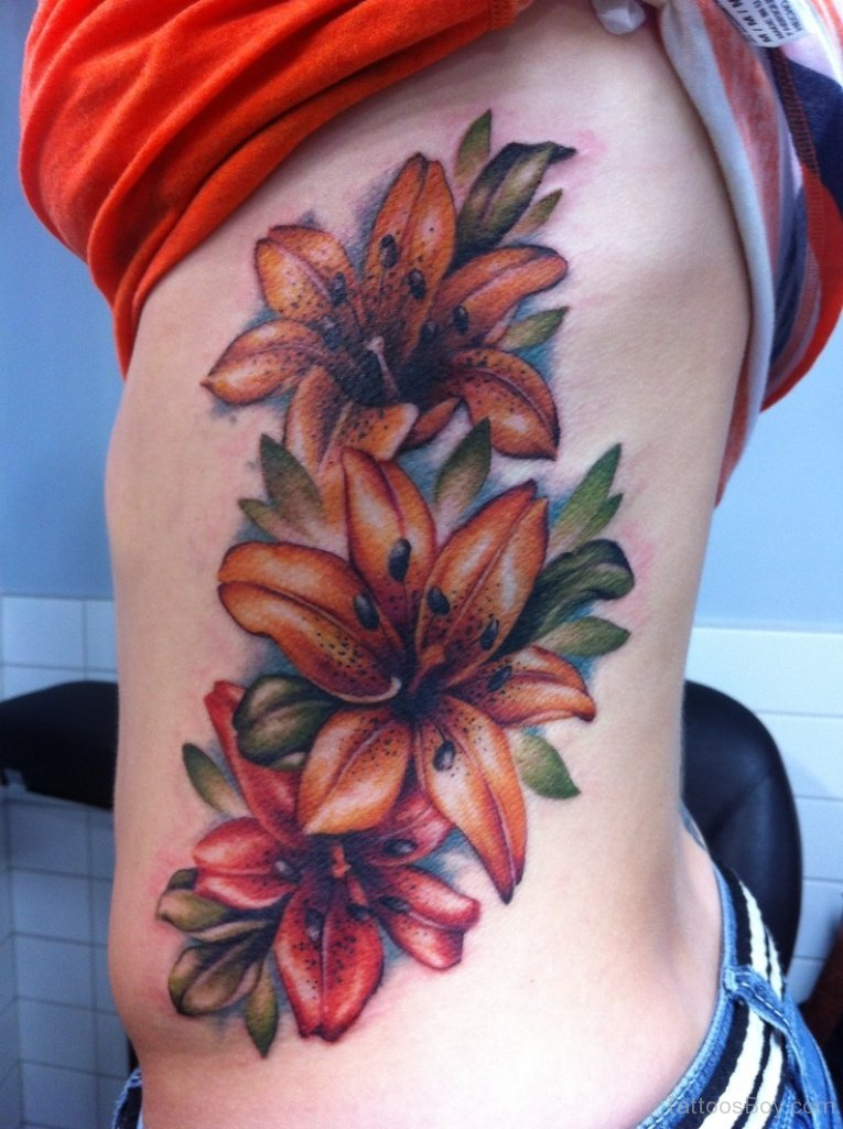 flower tattoo women