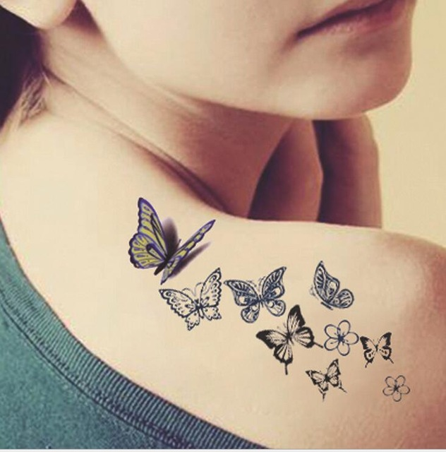 Butterfly Tattoo 1